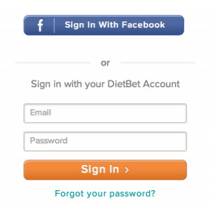 'Log in with Facebook?' -it's easier and quicker than the alternative