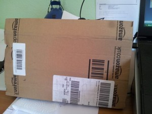 One minute's silence please, for the last free delivery from Amazon UK