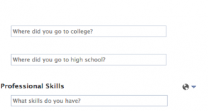 Which school did I go to? None of your business, Facebook!