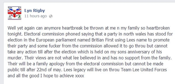Lee Rigby's mother