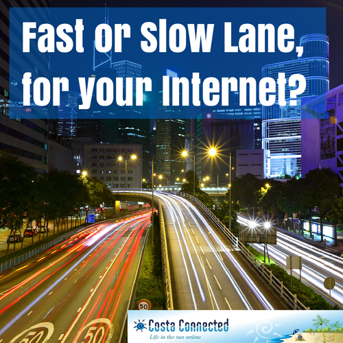 fast or slow internet