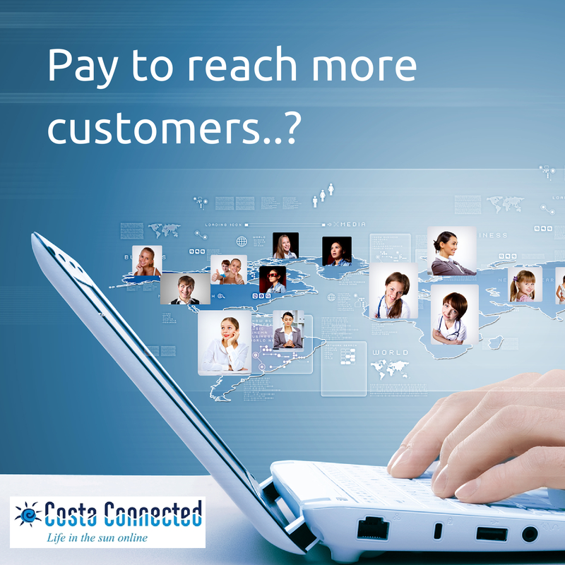 pay to reach new customers
