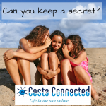 keep a secret Costaconnected