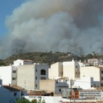 javeamigos fire on Montgo