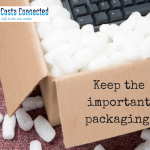keep the packaging