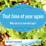 Try new diet app my fitness pal