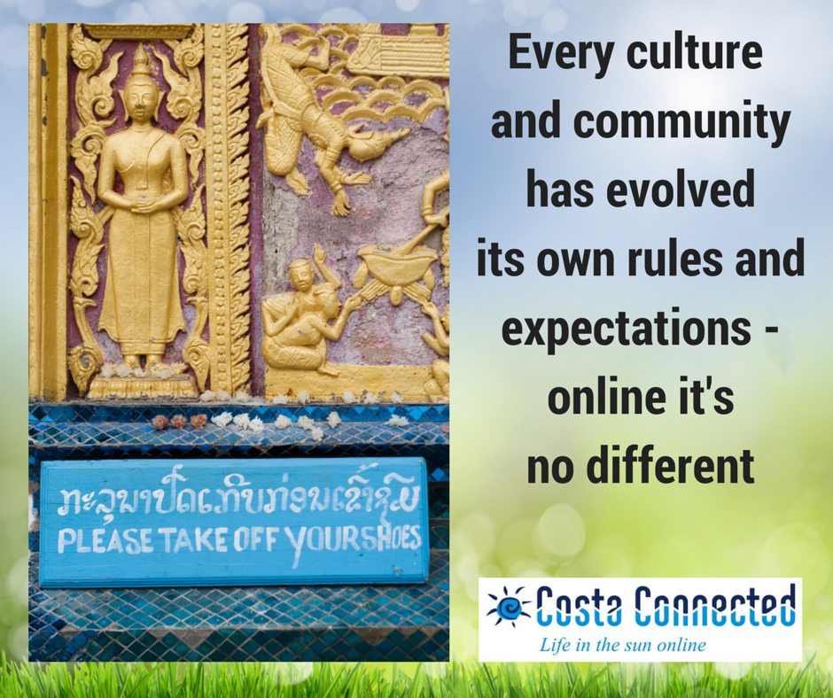 every culture has rules