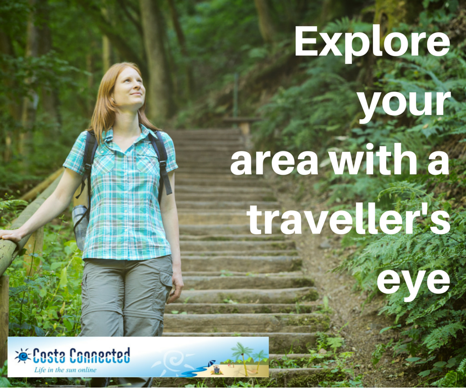 Explore your area with atraveller's eye