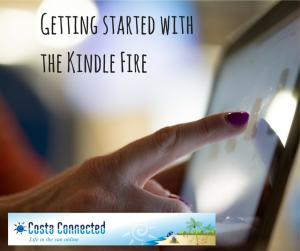 Getting started with the Kindle Fire